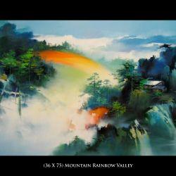Mountain Rainbow Valley