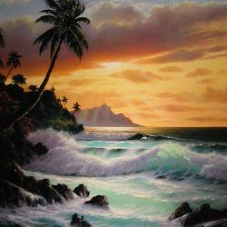 """Tropical Sunrise"""