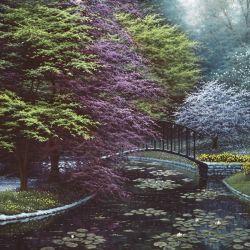 Garden of the Villa Melzi