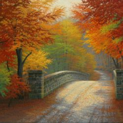 The Old Stone Bridge in Autumn