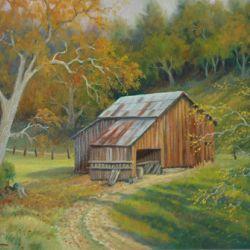 Barn on Crystal Springs Road