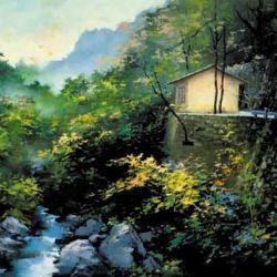 River Side in Spring