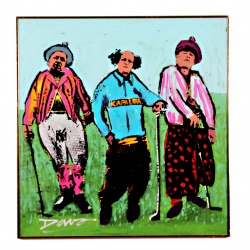 Three Stooges Golfing at Kapalua
