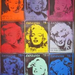 Marylin Monroe Stamp