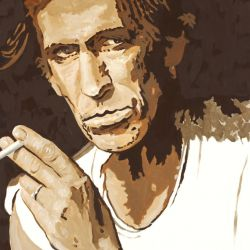 Keith Richards Portrait